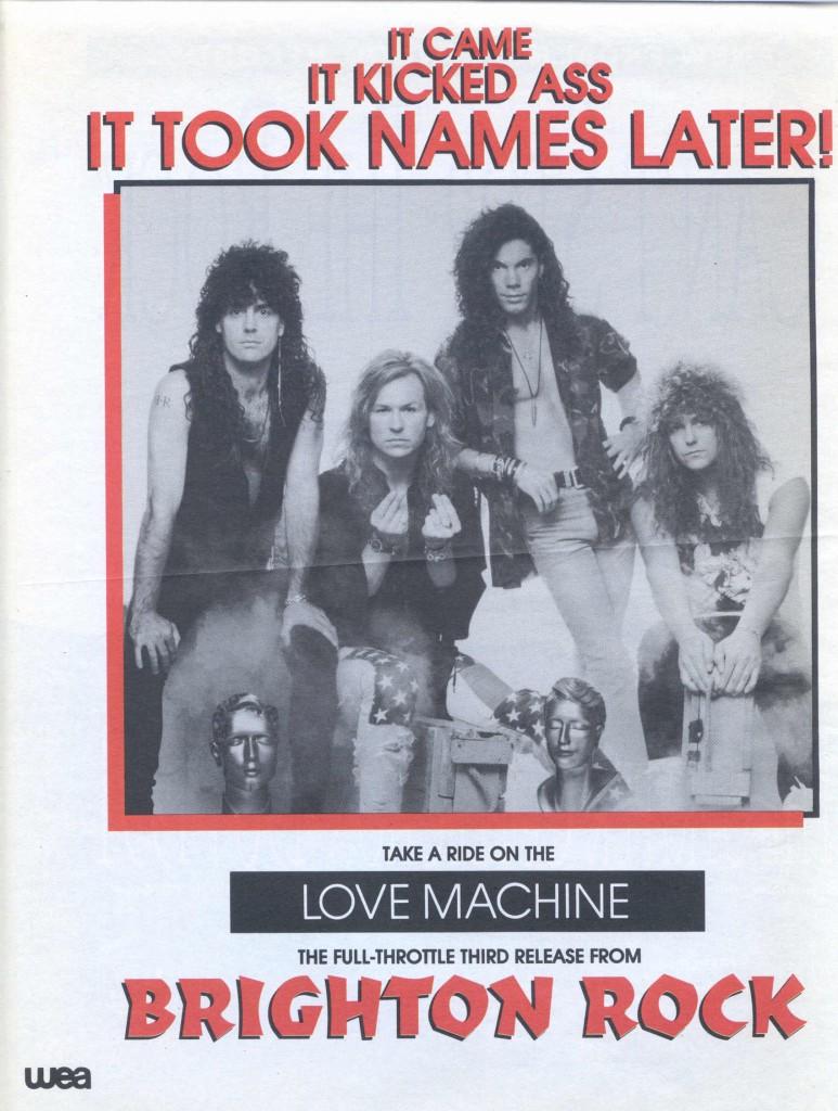 BR - Love Machine Promo